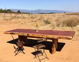 Slab Table Etsy by Outdoor Slab Table Etsy
