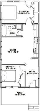 houses floor plan 16x32 tiny house 511 sq ft pdf floor plan model 1w tiny