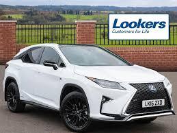 lexus rx 450h white 2016 lexus rx 450h f sport white 2016 03 01 in hatfield