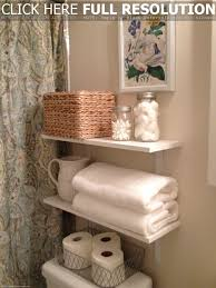 Small Bathroom Wall Shelves Bathroom Bathroom Shelves With Baskets New At Extraordinary