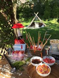 backyard camp out wholesome sweeteners
