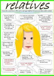 english worksheets relative worksheets page 10