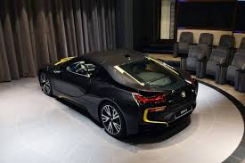 Bmw I8 2016 Black - bmw i8 shines in sophisto grey with austin yellow accents