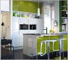 modern kitchen design idea with white green cabinet kmodern island