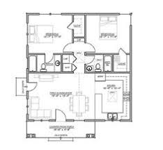 Floor Plan Bungalow Craftsman Mountain House Plan And Elevation 1400sft Houseplans