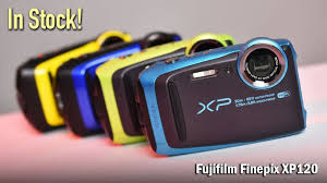 Rugged Point And Shoot Camera In Stock Fujifilm Finepix Xp120 In Focus The Cameta Camera Blog