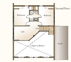 Jack And Jill Floor Plans A Small Log Home Floor Plan U2013 The Augusta Real Log Homes