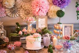 enchanted garden baby shower party ideas garden baby showers