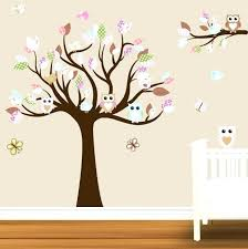 Tree Wall Decor For Nursery Tree Wall Decorations Baby Nursery Wall Stickers Bathroom Wall