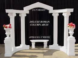 chair rental indianapolis deluxe column arch set special event wedding and party rental