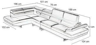 dimension d un canapé dimension canape cheap dimension canape places dimension