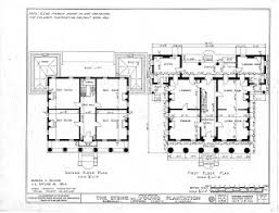 plantation floor plans historic home plans