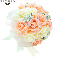 Vase With Pearls Online Buy Wholesale Flower Bouquet High Vase From China Flower