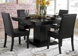 black dining room set all black dining room set luxmagz