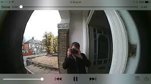 Front Door Video Monitor by Ring U0027s Video Doorbell Let Me Banish Unwanted Visitors