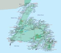 Map Of Eastern Canada by About Newfoundland U0026 Labrador Motorcycle Tour Guide Nova Scotia