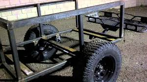 jeep trailer build part 3 off road camping trailer youtube