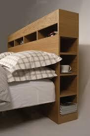 diy headboard with shelves best 25 storage headboard ideas on