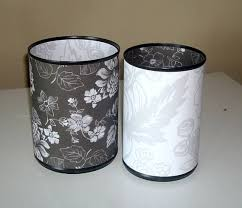 Floral Desk Accessories 82 Best Tin Can Desk Accessories Images On Pinterest Office