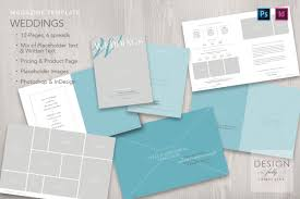 Indesign Price List Template Wedding Magazine 12 Pages Template For Adobe Photoshop