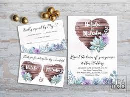 wedding invitations jacksonville fl rustic wedding invitation floral wedding invitation suite