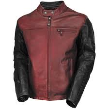 red motorcycle jacket roland sands ronin leather motorcycle jacket get lowered cycles