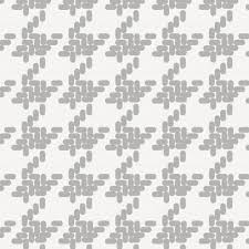 silver gray modern houndstooth fabric by the yard gray fabric