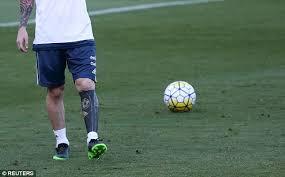 Lionel Messi Leg Photos Lionel Messi S Shows The Argentine Has Found A