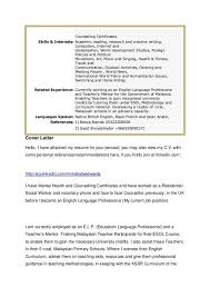 Language Spoken In Resume Cover Letter International Development Cover Letter For A Sales