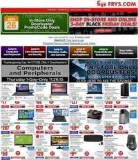 fry s electronics black friday 2015 ad scan