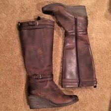 ugg australia s irmah boots ugg australia zip wedge knee high boots for ebay