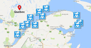 a map of quebec u0027s best free whale watching spots mtl blog