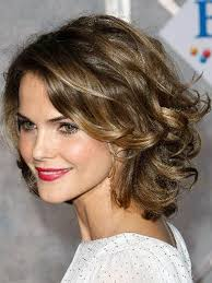best hair do for big face short curly hairstyles for big faces