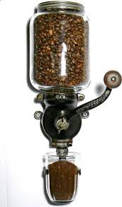 Wall mounted manual hand operated coffee grinder ♥♥♥ Coffee art