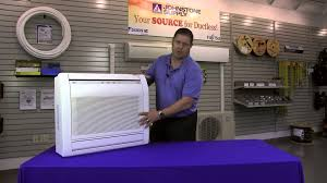 mitsubishi ductless ceiling mount fujitsu floor mount unit youtube