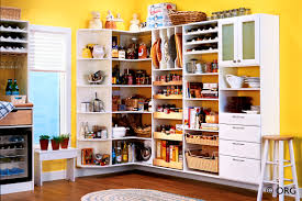 Free Standing Kitchen Pantry Furniture Apartments Personable Interior Design Clean Modern Kitchen Stock