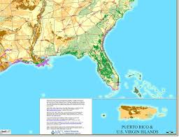 Map Of Puerto Rico And Us by Where Does Gpr Work What Soils Are Good See Gpr Map Of The U S