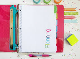 free printable life planner 2015 clean life and home free printable divider tabs pages for your