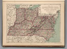 Maps Of Tennessee by Map Of Virginia And Tennessee Wisconsin Map