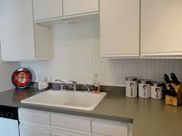 decorating artistic fasade backsplash with white kitchen cabinets