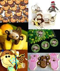 monkey baby shower ideas monkey baby shower favors ideas baby shower gift ideas