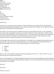 software engineering cover letter software engineer cover letter