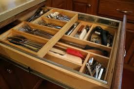 Kitchen Drawer Storage Ideas Cherry Wood Cordovan Raised Door Kitchen Drawer Organizer Ideas