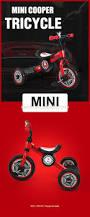 bmw bicycle logo rastar toy bike made in china bmw mini licensed 3 wheel kids bike