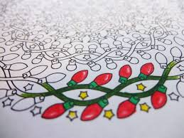 Candy Canes Lights Outdoor by Christmas Nights Christmas Mandala Candyhippie Coloring Pages