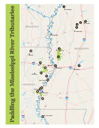 Map Of The Mississippi River Paddling The Mississippi River Tributaries