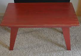 coffee table red coffee tablered set leather ottomanred with