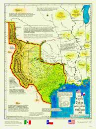 Map Of The 50 United States by Historical Texas Maps Texana Series