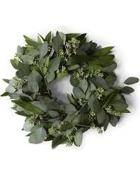 bay leaf wreath savings on bay leaf and seeded eucalyptus wreath 16