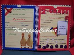 school memories album deluxe school memories pre k 12 keepsake scrapbook album book